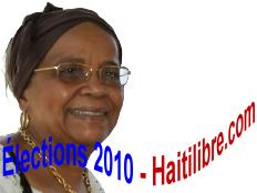 MANIGAT Mirlande Hyppolite - Rassemblement des Démocrates Nationaux Progressistes (RDNP)