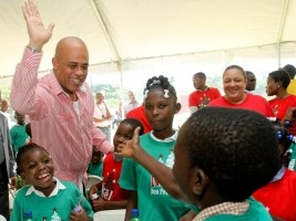 Haiti – Social : 3,000 disadvantaged children celebrated Christmas at the National Palace