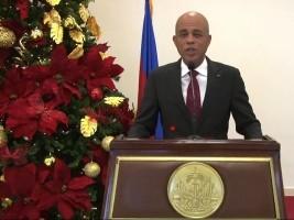 Haïti - Politique : Message du Président Martelly pour les fêtes de fin d'année