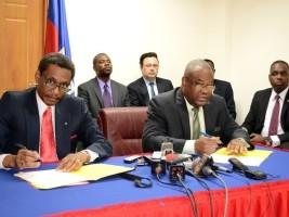 Haïti - Élections : Protocole d'entente visant la mise à jour des listes électorales