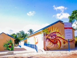 Haiti - Education : Inauguration of the new Charles Moravia National school