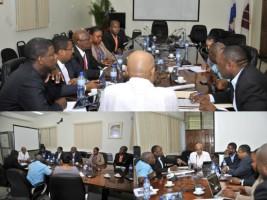 Ha ti politique importante rencontre pr paratoire la for Hopital canape vert haiti
