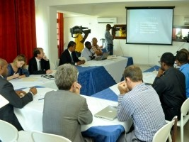 Haiti - Technology : Launch of the project of aerial photographic coverage of Haiti