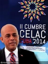 Haïti - Politique : Le Président Martelly au 3e Sommet de la CELAC (Cuba)