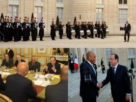 Haïti - Politique : Le Président Michel Martelly a été reçu à l'Élysée