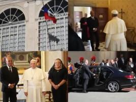 Haïti - Diplomatie : Le Président Martelly a été reçu en audience privée par le Pape François