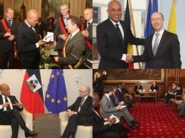 Ha ti politique fin de la tourn e europ enne du for Hopital canape vert haiti