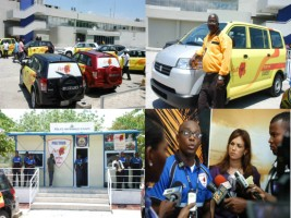 New taxis and Politour in Toussaint Louverture International Airport