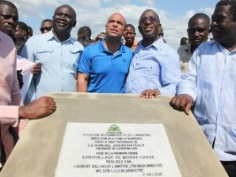 Haïti - Agriculture : Pose de la première pierre d'un Microparc Industriel et d'un agrovillage