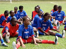 Haiti - Women's Football : Grenadières in Brazil, in super form!
