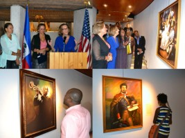 Exhibition at MUPANAH of the Works of Ulrick Jean-Pierre
