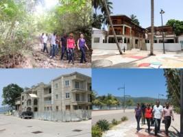 Ha ti tourisme la ministre du tourisme en tourn e de for Hopital canape vert haiti