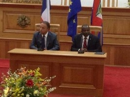 Haiti - Politic : The Senator Desras transmits messages to the French Senate President...