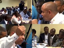 Haïti - Politique : Laurent Lamothe, devant la Commission Économie et Finances des députés