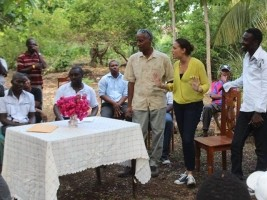 Ha ti politique les projets avancent le vache for Hopital canape vert haiti