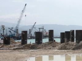 Haiti - Reconstruction : Monitoring of port works
