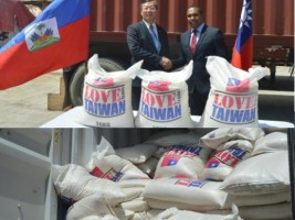 Haïti - Humanitaire : Don de Taïwan de 1,000 tonnes de riz