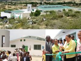 Haïti - Santé : Inauguration du Centre de santé de Cameau (Cabaret)