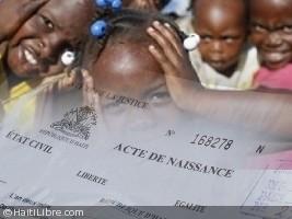 Haïti - Justice : Distribution prochaine de 2 millions de formulaires d'acte de naissance