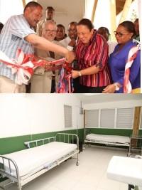 Haïti - Santé : Inauguration 2 Centres de santé à Seguin et à Gaillard
