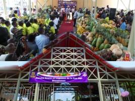 Haïti - Économie : Inauguration du marché de fruits et légumes à Pétion ville