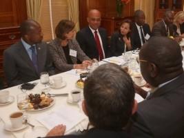 Haïti - Économie : À New-York, le Président Martelly fait la promotion des opportunités en Haïti