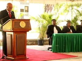 Haiti - Justice : Reopening of the courts for the new judicial year (2014-2015)