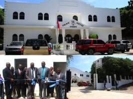 Ha ti justice inauguration du nouveau tribunal d aquin for Hopital canape vert haiti