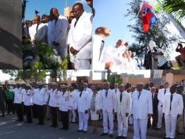 Haiti - Politic : President Martelly celebrates «The life of the Emperor Jean-Jacques Dessalines»