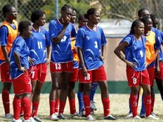 Haiti - Women's Football : Gold Cup, preparatory match Haiti - Botafogo