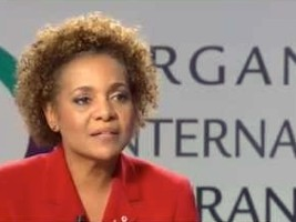 Haiti - Politics: Michaëlle Jean succeeds Abdou Diouf as head of the OIF