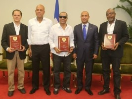 3 great musicians rewarded at the National Palace