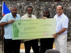 Haiti - USA : 360,000 dollars to save local heritage