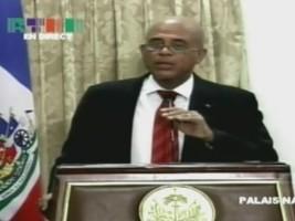 Ha�ti - FLASH : �Je suis d'accord avec les recommandations qui ont �t� faites� dixit Michel Martelly