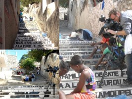 Haiti - Tourism : Development works of lanes stairs in Jacmel