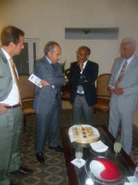 Haiti - Politic : The Club of Madrid met with former President Aristide