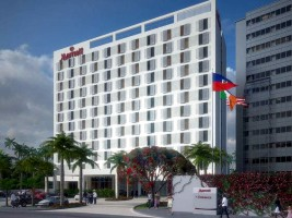 Haiti - Tourism : D-5 before the opening of the Marriott Hotel