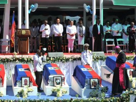 Haiti - Social : National funeral, emotions and solidarity