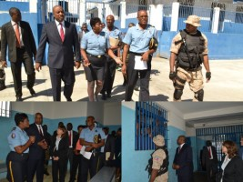 Haiti - Justice: Operation «Punch» to the Prison of Croix-des-Bouquets