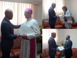 Haiti - Diplomacy : 3 new Ambassadors accredited to Haiti