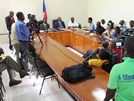 Haiti - Education : The Minister Manigat launches the fight against school violence