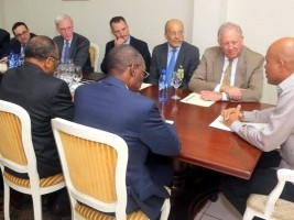Haiti - Politic : End of visit for senior US officials