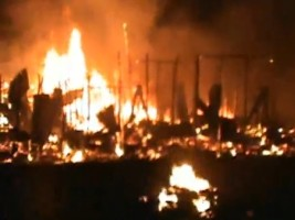 Haiti - FLASH : A fire destroyed the housing of more than 300 Haitians