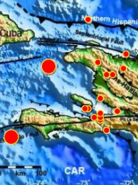 Haiti - Security : 23 earthquakes recorded in 2015