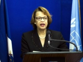 Haiti - Security : Sandra Honoré condemns the violence of Ouanaminthe