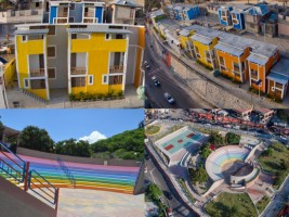 Haiti - Social : Key handover for social housing in Morne Lazarre