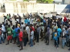 Haiti - Social : 480 Haitian illegal migrants stopped at the Dominican border
