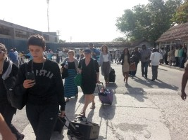 Haiti - Humanitarian : The «Jack Brewer Foundation» delegation continues its tour in Haiti