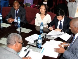 Haiti - Reconstruction : Awarding of a contract of 1,3 billion gourdes