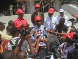 iciHaiti - Reconstruction : Two important Dominicans construction sites, transferred to Taiwan